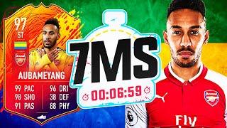 REVENGE IS SWEET! INSANE HEADLINER AUBAMEYANG 7 MINUTE SQUAD BUILDER! - FIFA 20 ULTIMATE TEAM