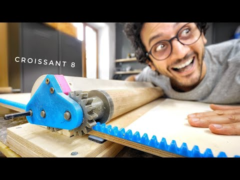 My New Croissant Machine Is 3D-PRINTED ! (open-source)