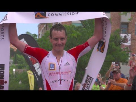 IRONMAN 70.3  2017 Winner in St. George