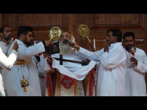 Good Friday Service by HH Marthoma Paulose II Catholicos at Mar Elia Cathedral, Kottayam