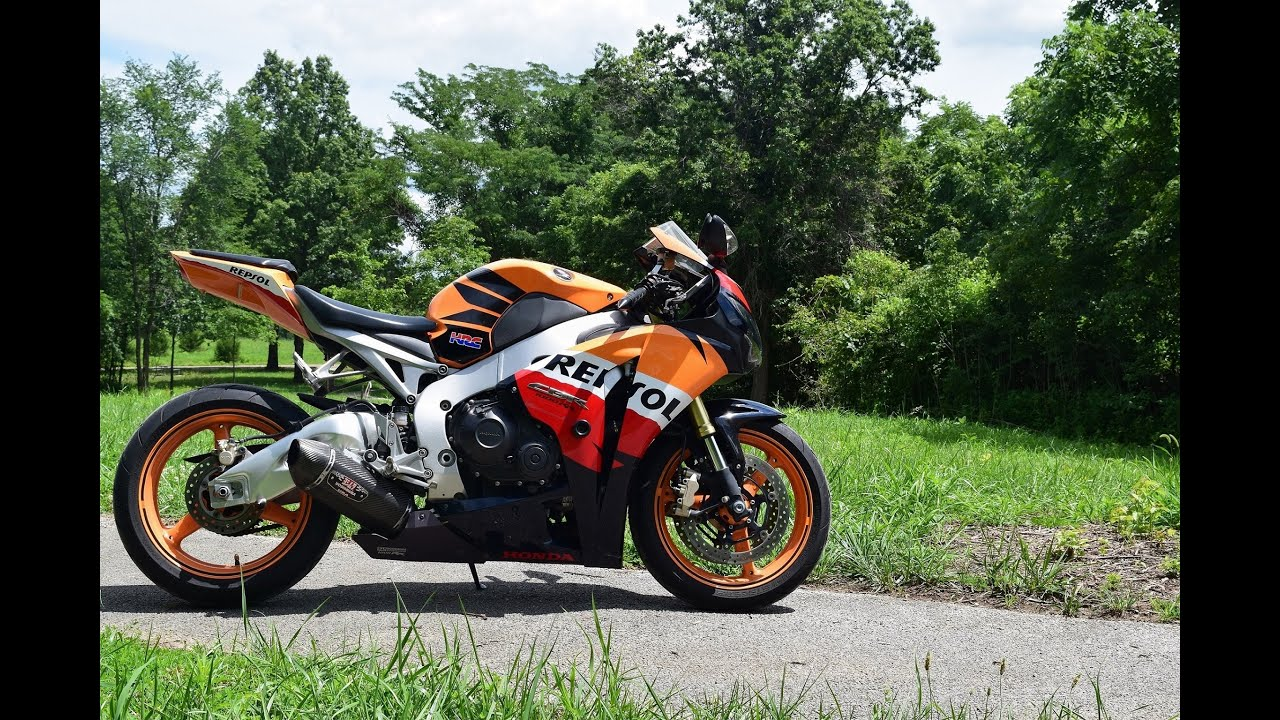 2009 Honda Repsol CBR1000rr Ride and Review - YouTube
