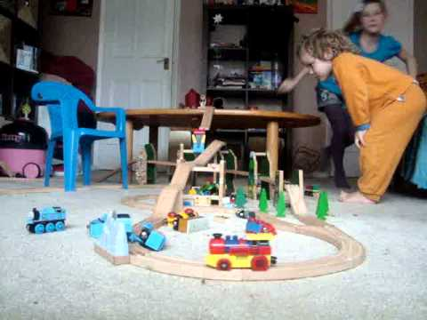 Train crashes in the Chalfonts