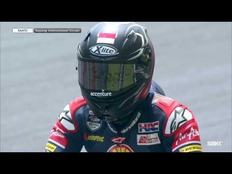 Live Race 1 Sepang - Round 3 - Shell Advance Asia Talent Cup 2016