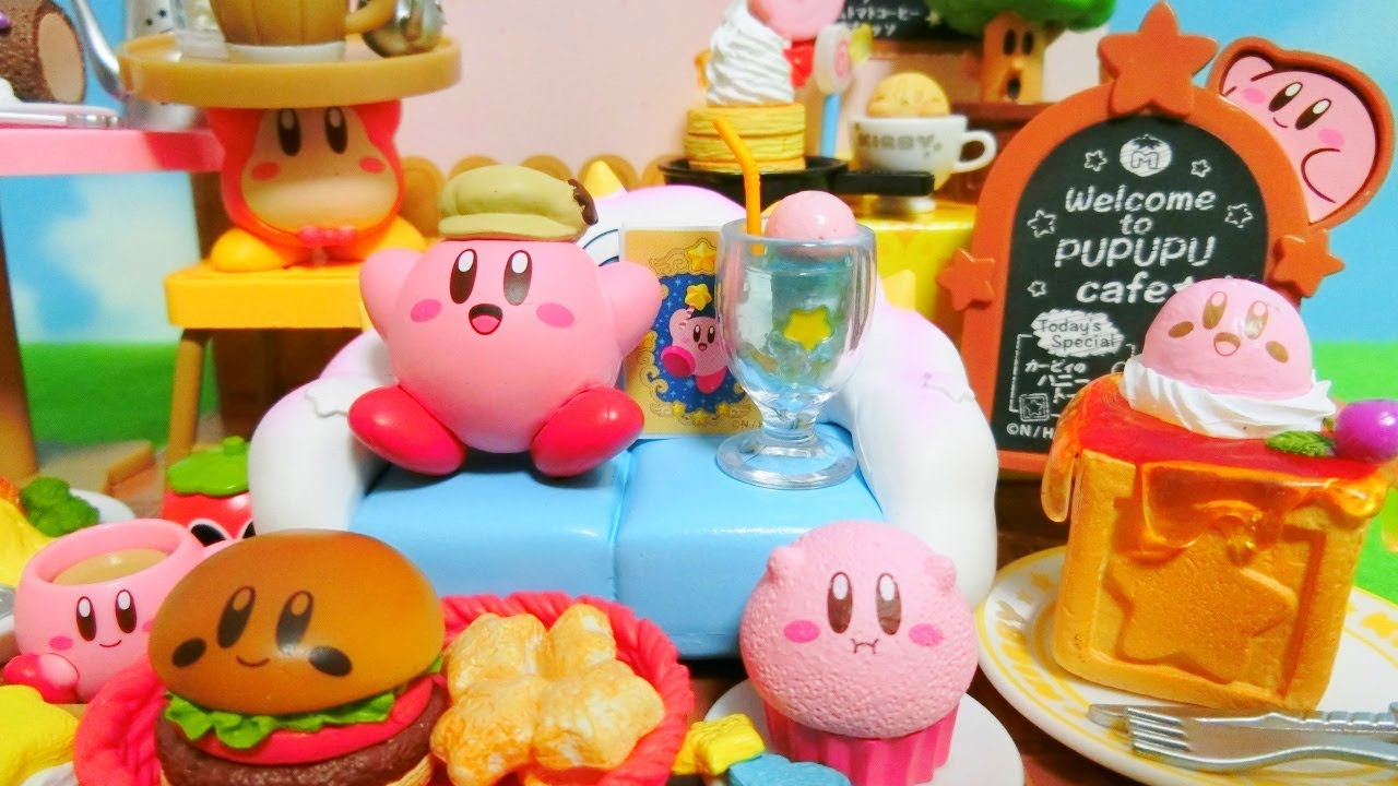 Re-Ment Kirby's Cafe Time Unboxing - Japanese Miniature ...
