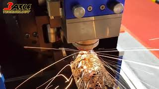 〔光纖雷射金屬切割機〕2018台中自動化工業展-光纖雷射金屬板管切割機。管材雷射切割機
