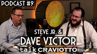 Steve Maxwell Vintage Drums - Episode 9 - Steve Maxwell Jr. With Crav. VP Percussionist Dave Victor
