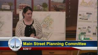 Main Street Master Planning Committee Public Forum 6/28/17