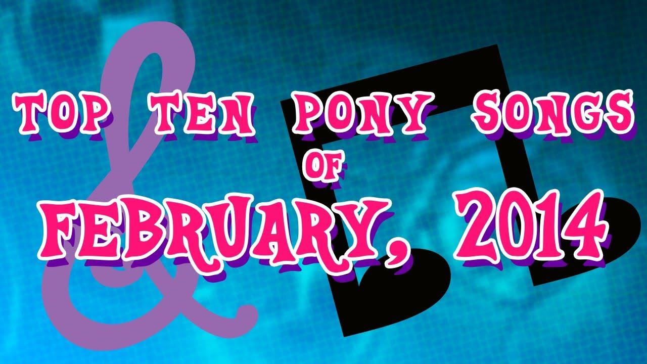 top ten hits 2014 february