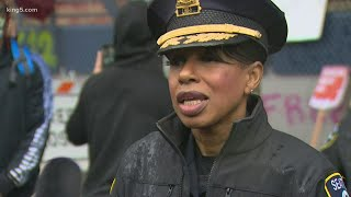 Former Seattle Police Chief Carmen Best will serve as KING 5 law enforcement analyst