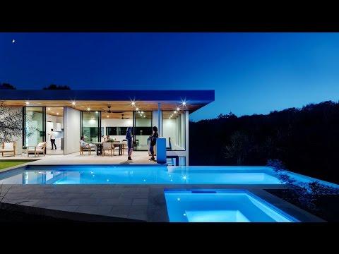 Gorgeous Modern Contemporary Luxury Residence in Austin, Texas, USA (by Matt Fajkus Architecture)