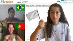 Paz Entre Portugal e Brasil no Omegle.