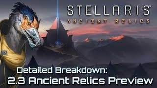 Stellaris 2.3 Wolfe ANCIENT RELICS Preview Stream & 10k Sub Q&A Special | Stellaris 2.3 Wolfe