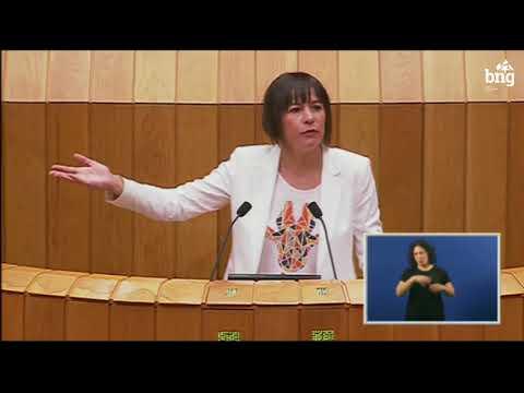 Ana Pontón defende a iniciativa do BNG para devolver o Pazo de Meirás ao pobo galego