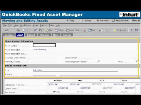 Fixed Asset Manager