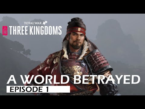 [EP1] Riding the Wind /Total War: Three Kingdoms/ Sun Ce A World Betrayed Lets Play  