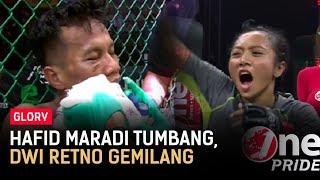 Hafid Maradi Tumbang dari Martin Sulaiman, Dwi Retno Gemilang Kalahkan Melpida Sitohang   Glory