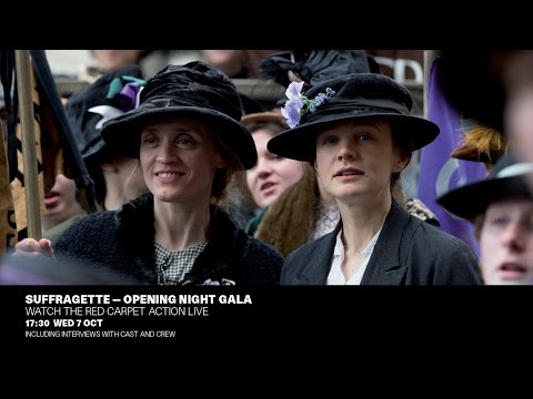 Suffragette: Live from the BFI London Film Festival   BFI