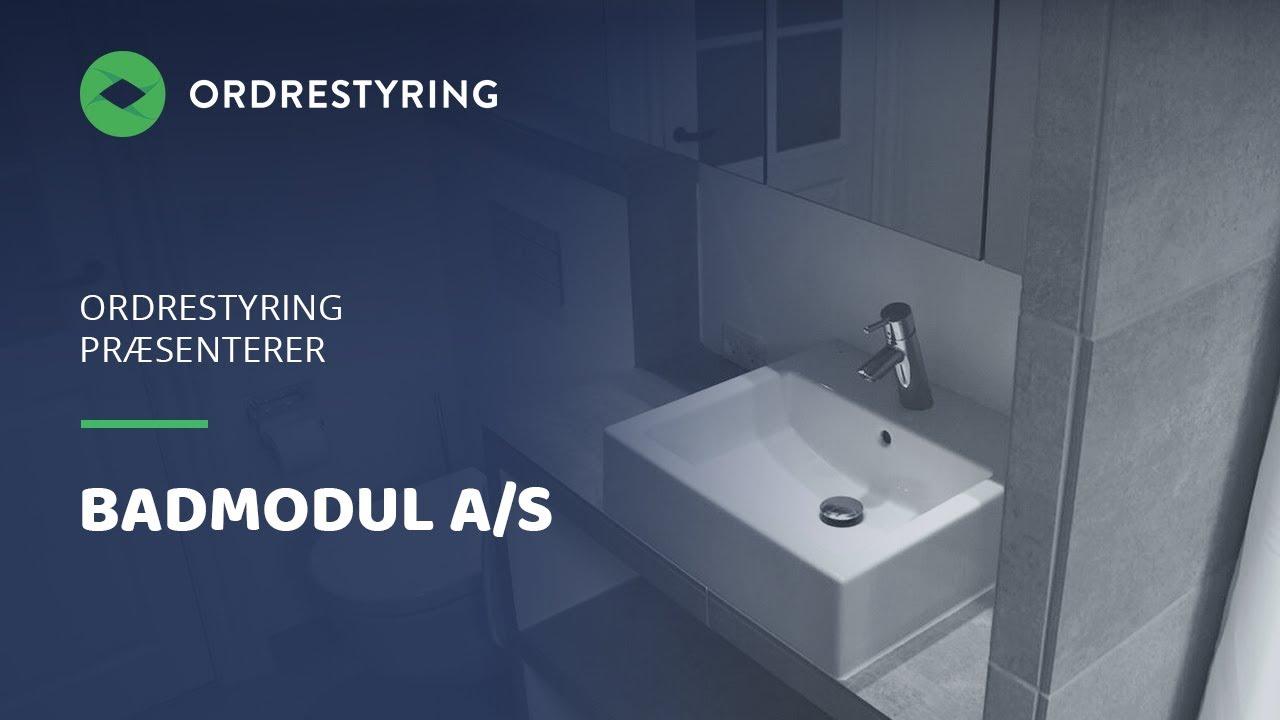 Ordrestyring: Badmodul - Hør ejer Mads Andreasen fortælle hvor Ordrestyring.dk gør arbejdet nemmere