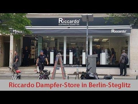Riccardo Store Eröffnung Berlin Steglitz