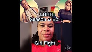 (REVIEW) Love and Hip Hop: Hollywood | Season 4: Ep. 1 | Girl Fight (RECAP)