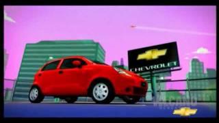 Phim Quảng cáo xe hơi GM Chevrolet - Spark - Own the City