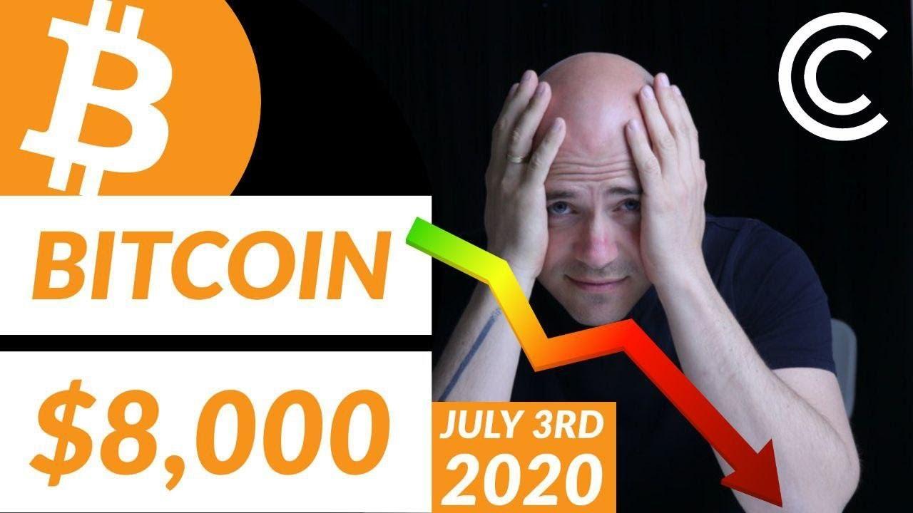 Bitcoin Price $8,000!!! - Bitcoin Today [July 3rd 2020]