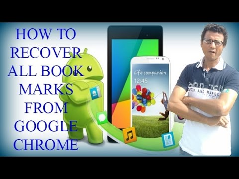 how to delete all book marks from chrome