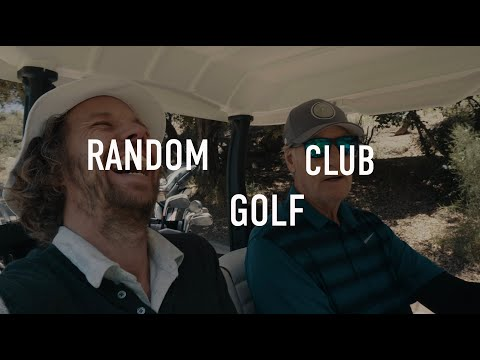 RANDOM GOLF CLUB Episode 1: CRAIG T NELSON