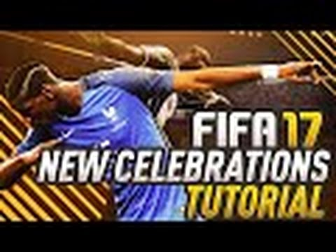 FIFA 17 - ALL NEW CELEBRATIONS TUTORIAL (DAB, PREDATOR, BIG MAN + MORE) | XBOX ONE AND PS4