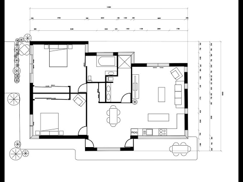 Designing A Plan View Floor Plan In Adobe Illustrator