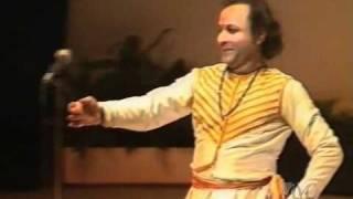 Pandit Durgalal - kathak performance
