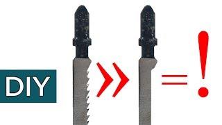 Что можно сделать из старой пилочки для лобзика. И еще куча полезных советов #Стройхак