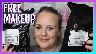 Makeup Revolution Beauty Haul February 2020 + TWO FREE MYSTERY BAG S UNBOXING