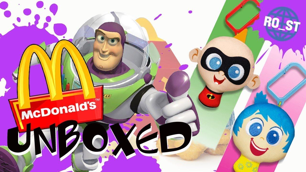 Details about  /McDonald/'s 2020 Disney Pixar Anniversary Plush-Pick Your Favorite Character!