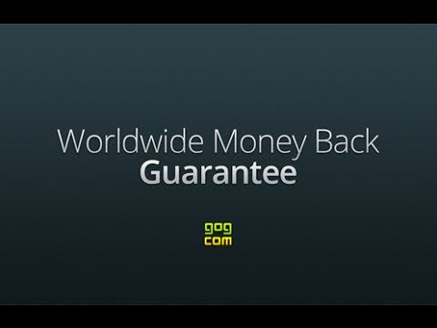 GOG.com Worldwide Money Back Guarantee