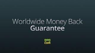 GOG.com Worldwide Money Back Guarantee