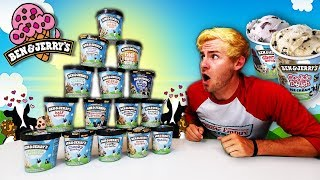 THE 15 PINT BEN & JERRY'S CHALLENGE! *WORLD RECORD ATTEMPT* (18,000+ CALORIES)