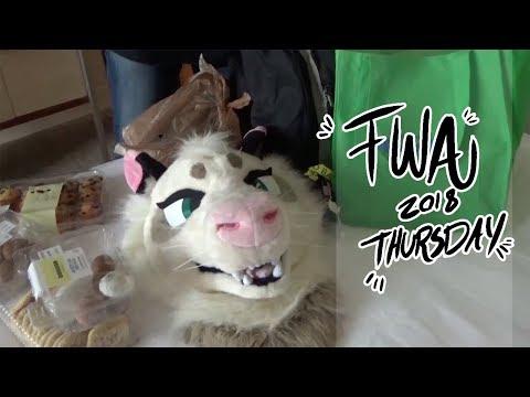 FWA 2018 Vlog [Thursday]-Arrival, Long Registration, and Karaoke