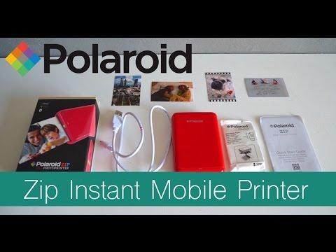 polaroid zip wireless mobile photo mini printer review