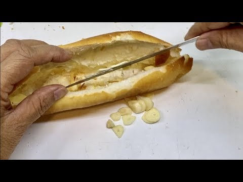 How To Make Carp Bait From Bread, Butter, Garlic - Carp Fishing