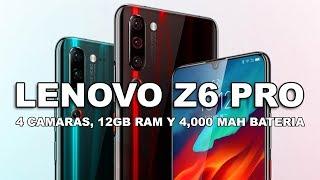 LENOVO Z6 PRO: 4 CAMERAS, 12GB RAM, 4000 MAH BATTERY AND OPTICAL ZOOM