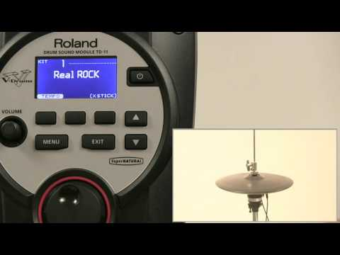 VH 11 Setup and Offset Adjustment Using the TD 11 【Roland VH-11 TD-11】