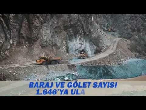 Orman ve Su İşleri Bakanlığı Sinop İli Açılış ve Temel Atma Tanıtım Filmi 23.06.2016
