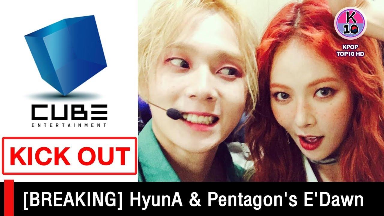 Hyuna pentagon edawn HyunA And