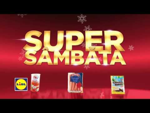 Super Sambata la Lidl • 10 Decembrie 2016