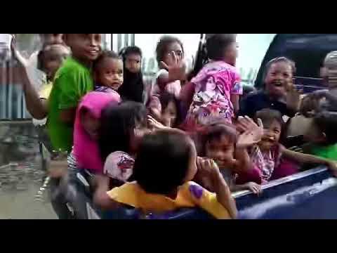 Bahagia Itu Sederhana Bagi Anak-Anak Desa Saloya, Donggala, PALU