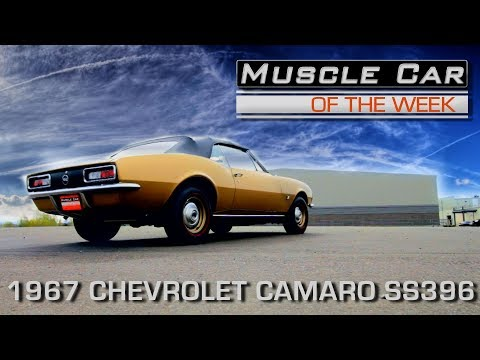 1967 Camaro SS396 375 HP Convertible: Muscle Car Of The Week Video Episode 212