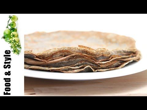 Buckwheat Crêpes (Galettes Bretonnes)
