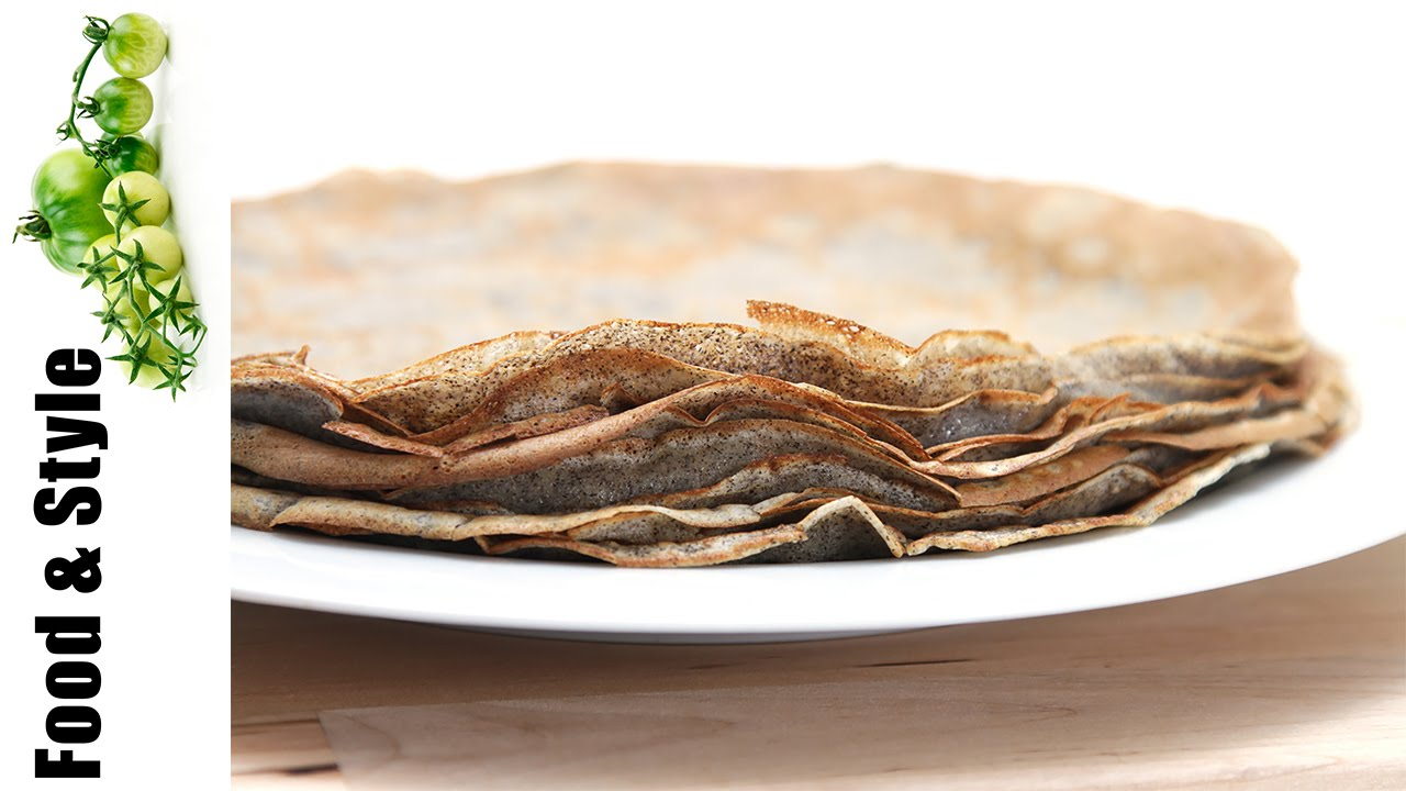 Buckwheat Crepes Galettes Bretonnes Youtube
