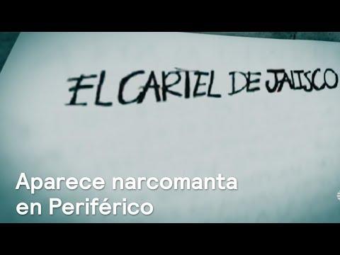 Aparece narcomanta en Periférico del Cártel Jalisco Nueva Generación - En Punto con Denise Maerker